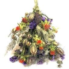 Dried Garden Parade Flower Bouquet