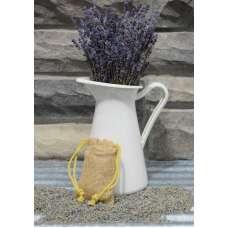 Lavender Bud Burlap Sachets - Organic and Kosher