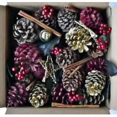 Jingle Bells, Stars, Pine Cone Potpourri