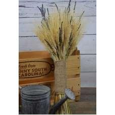 Vintage Wheat and Lavender Bouquet - 1LB