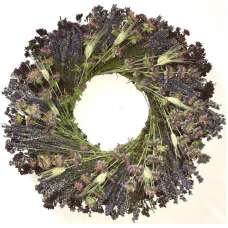 Dried Lavender Medley Wreath