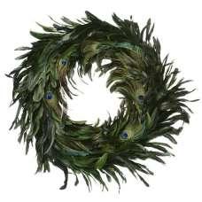 Peacock Feather Wreath - 14-18