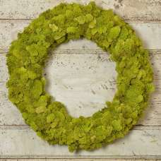 Dried Reindeer Moss Wreath